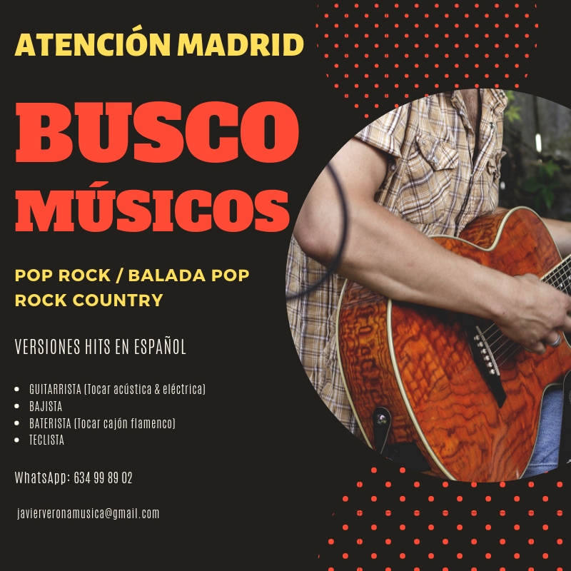 Busco Músicos en Madrid