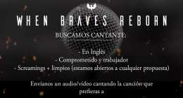 When Braves Reborn - Metalcore - busca Vocalista